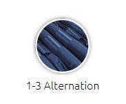 3-1 alternation