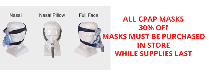 CPAP MASK PROMO