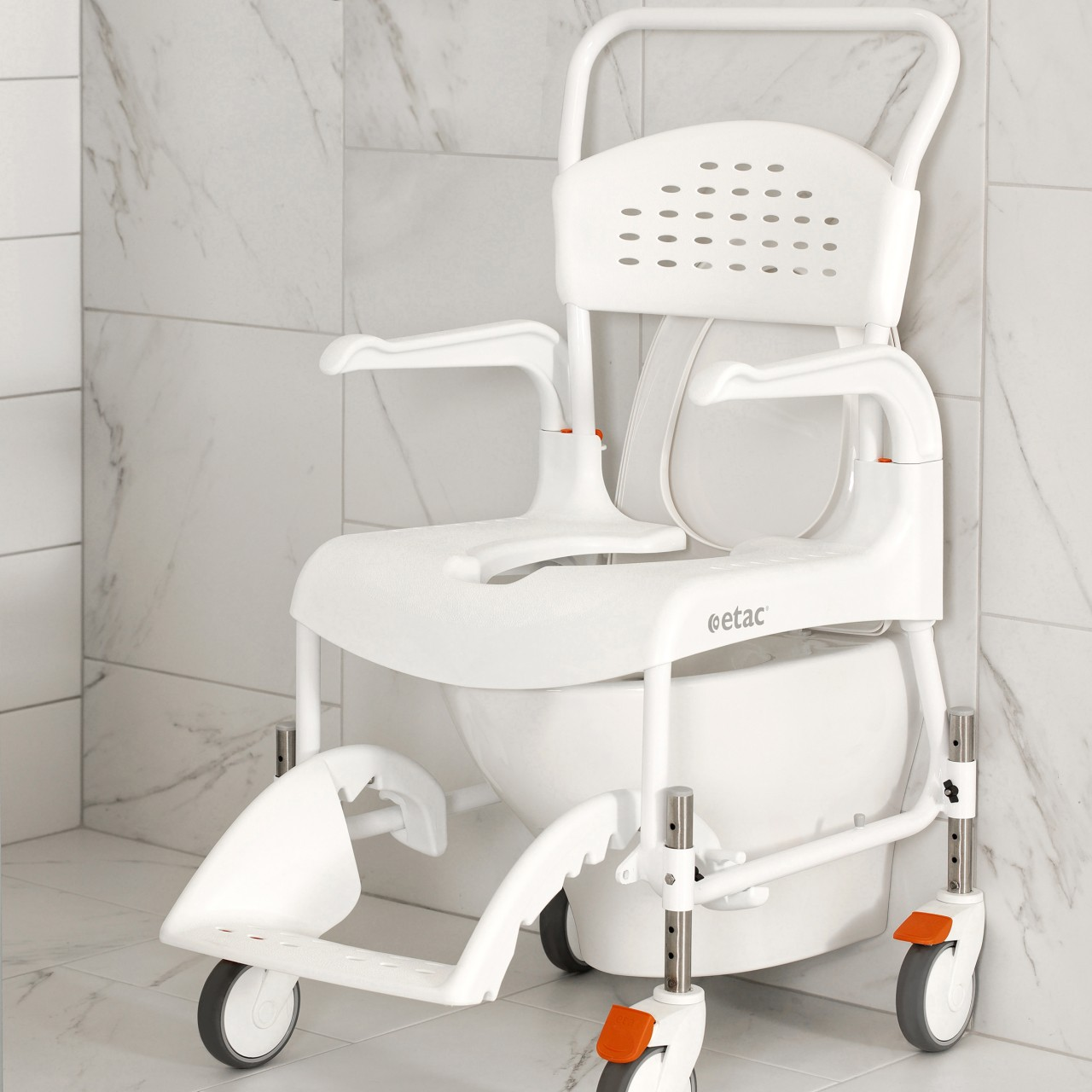 bfd3e0aff46 Etac Clean Height Adjustable Shower Commode