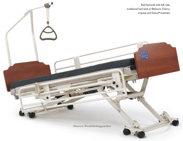 Invacare Carroll Cs7 Hi Low Hospital Bed Package
