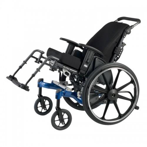 Blue Rehab Tilt in Space Wheelchair for Rental
