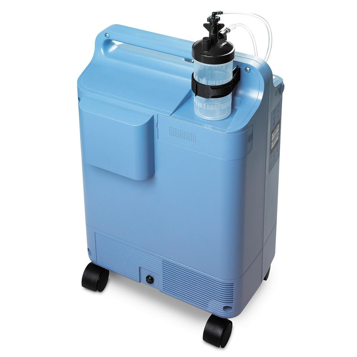 Blue 5 Liter Stationary Oxygen Concentrator Rental