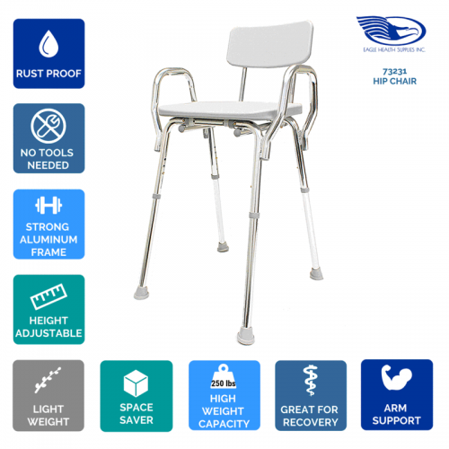Eagle Health Hip Chair 73231