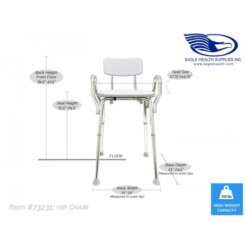 Specifications of Eagle Health Hip Chair