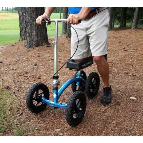 Blue All Terrain Kneerover Quad Knee Walker