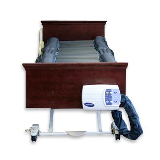 Dermafloat Air Mattress on Hospital Bed