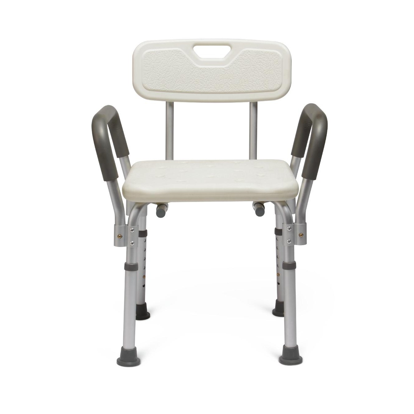 Medline Knockdown Bath Bench w/ Arms And Back