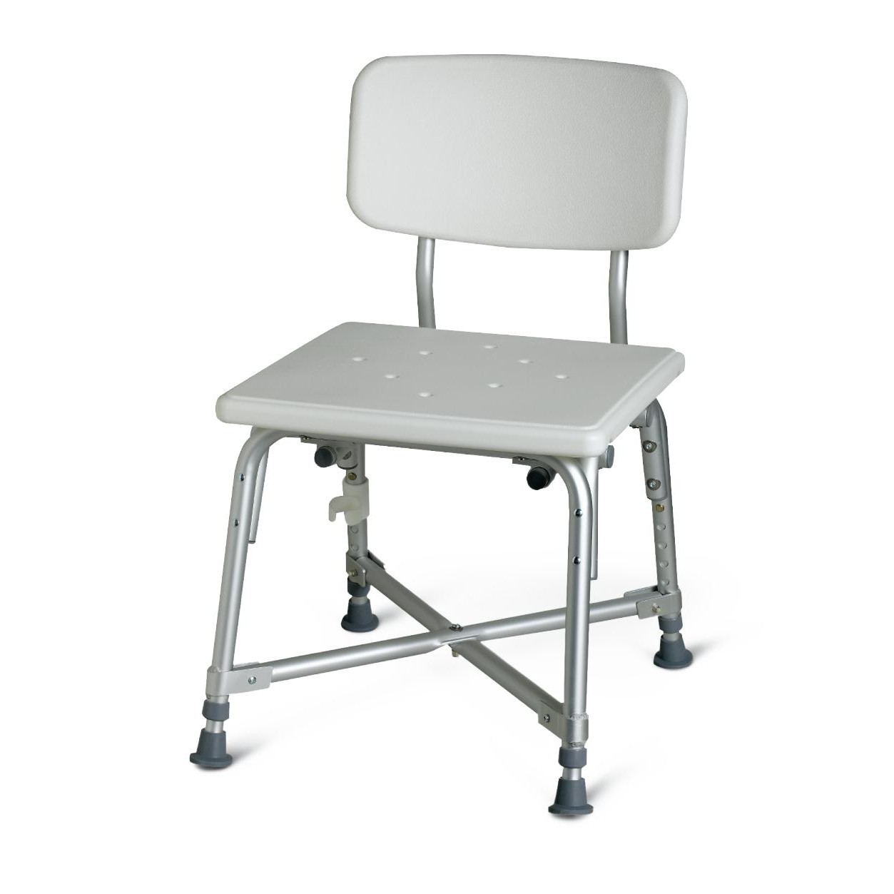 Medline Bariatric Aluminum Bath Bench w/ Back