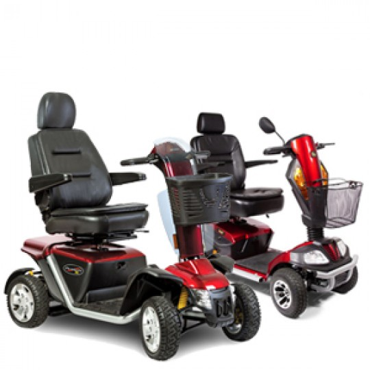 Heavy Duty / Bariatric Mobility Scooters
