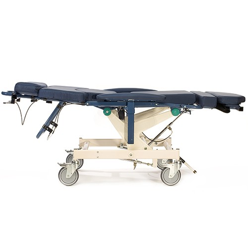 Laid out Barton Medical Human Care H-250 Patient Transfer System