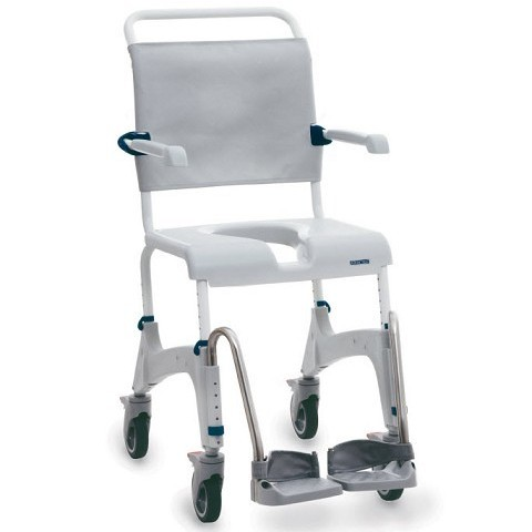 "Clarke Healthcare Ocean Shower Chair 5"" Casters"