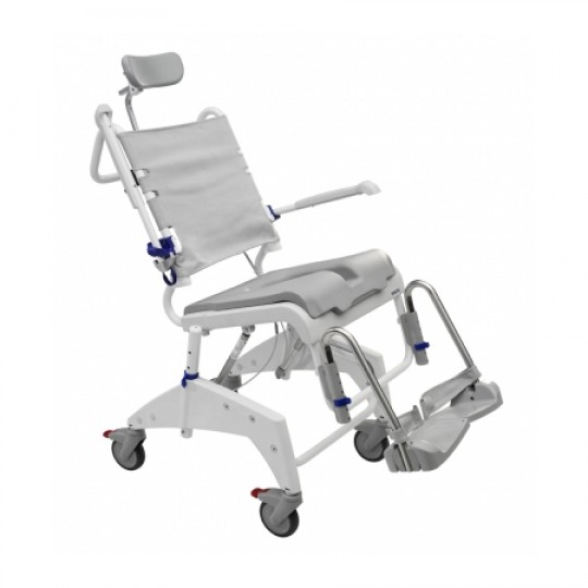 Clarke Healthcare Ocean VIP Shower Commode and Tilting Wheelchair