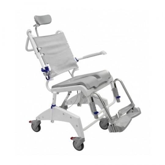 Clarke Healthcare Ocean VIP Shower Commode and Tilting Wheelchair