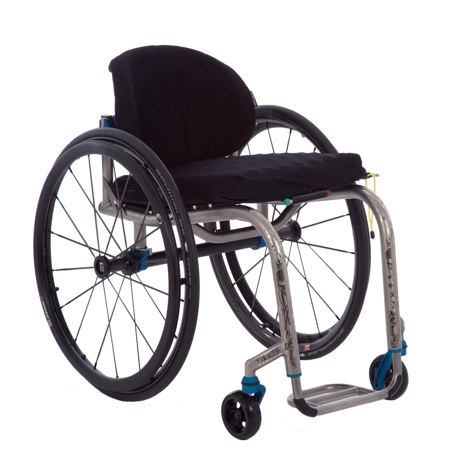 Deluxe Folding & Rigid Ultra Light Wheelchair Rental