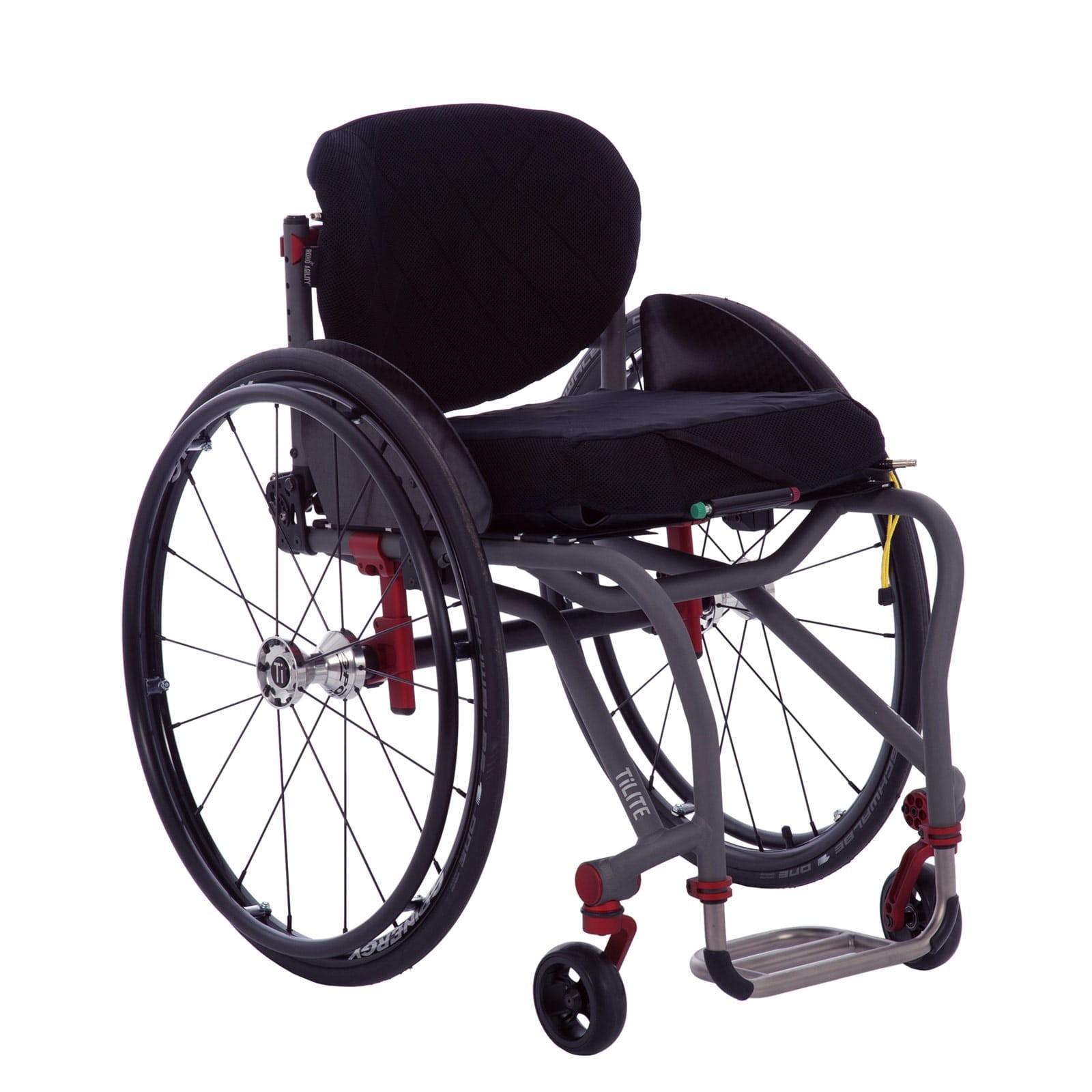 Deluxe Folding & Rigid Ultra Light Wheelchair for Rental