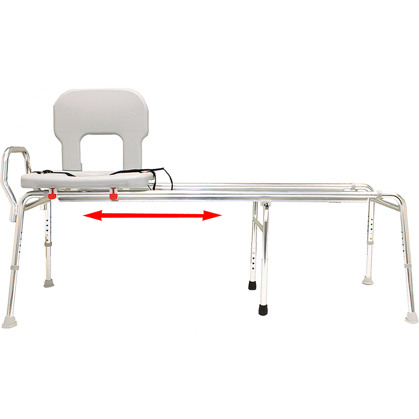 Eagle Health Toilet-to-Tub Sliding Transfer Bench (XX Long)