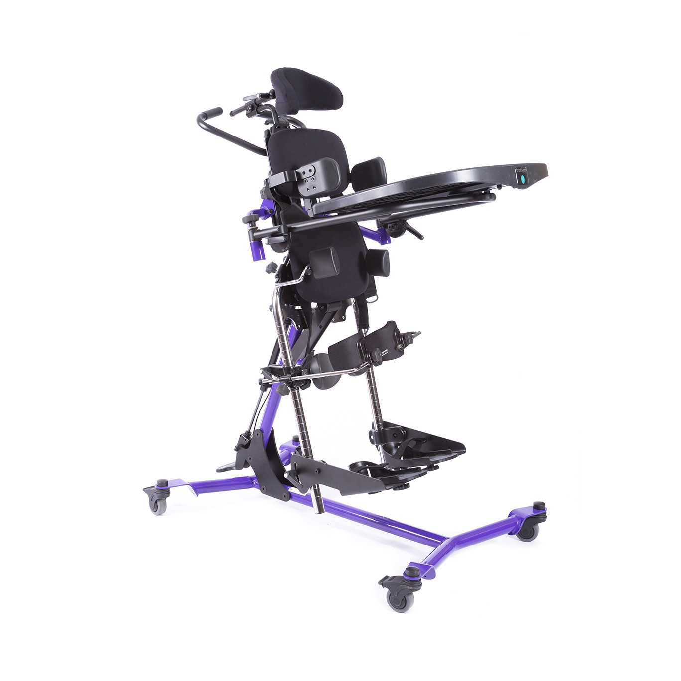 Side view of Purple EasyStand Zing MPS Size 2 Gas Spring Lift