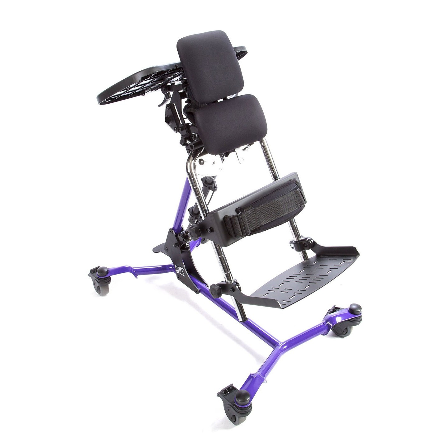 Side view of Purple EasyStand Zing Prone Size 1