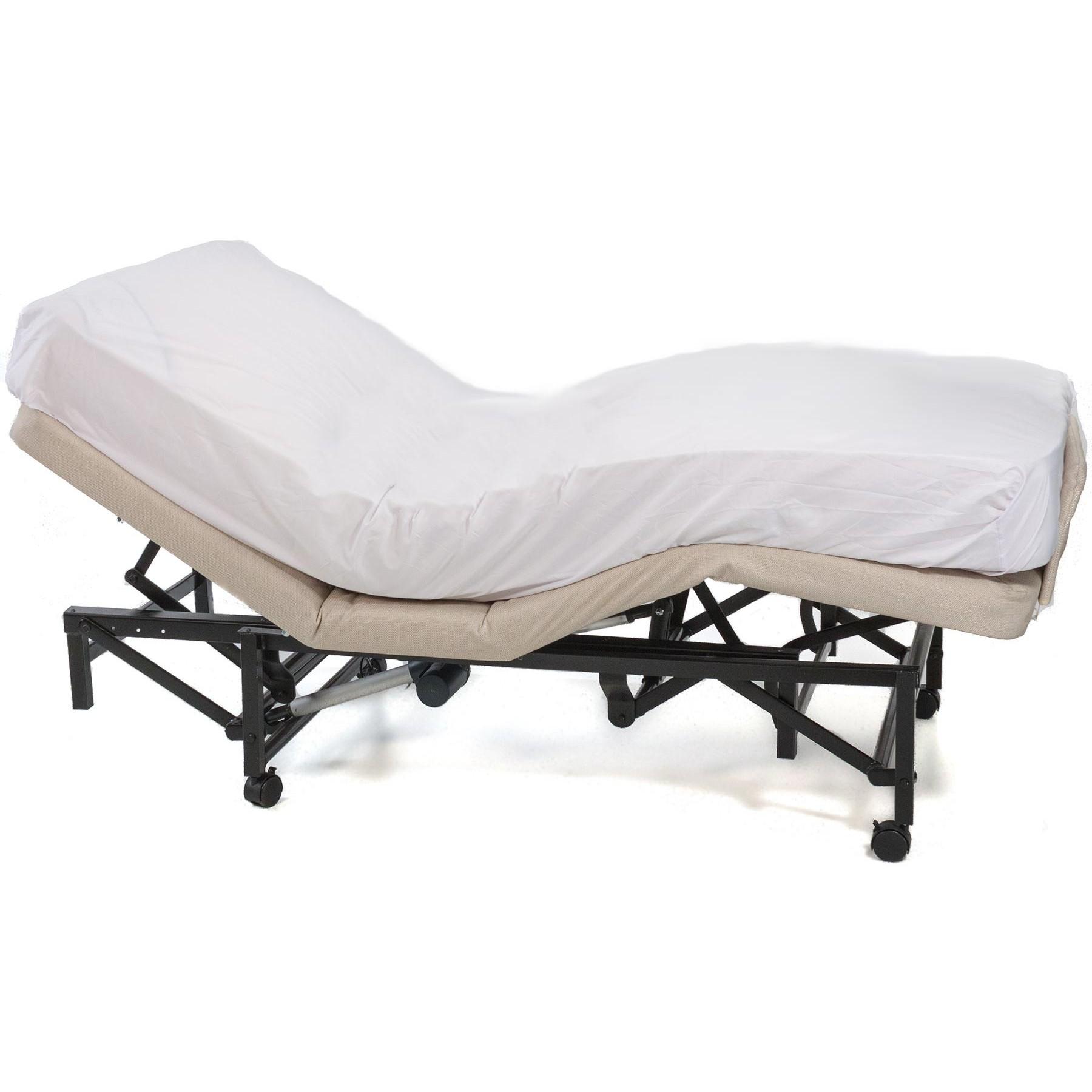 Side view of Flex-a-Bed 185 Hi-Low Adjustable Bed