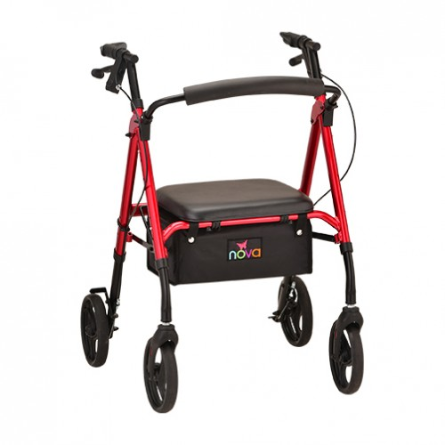 Four Wheel Folding Rollator Rental