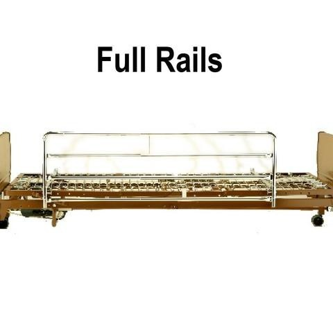 Full Rails on Hospital Bed