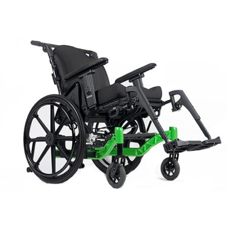 Green Rehab Tilt in Space Wheelchair for Rental