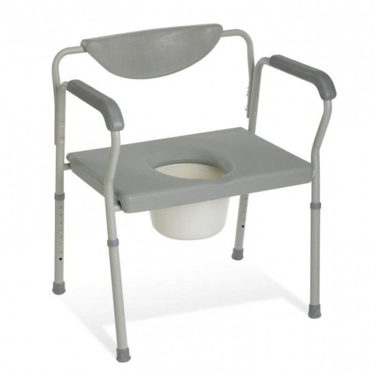 Medline Bariatric Commode Chair