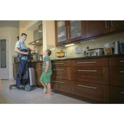 Man standing in a Matia Robotics TEK RMD