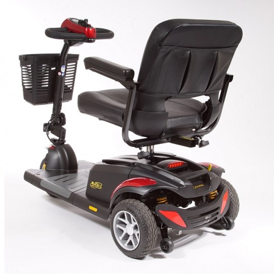 Back view of Golden Tech Buzzaround EX 3-Wheel Mobility Scooter