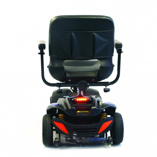 Back view of Golden Tech Buzzaround EX 4-Wheel Mobility Scooter