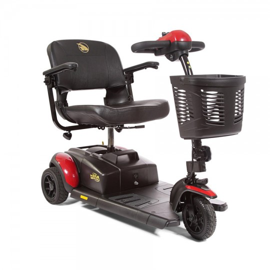 Red Golden Tech Buzzaround LT 3-Wheel Mobility Scooter