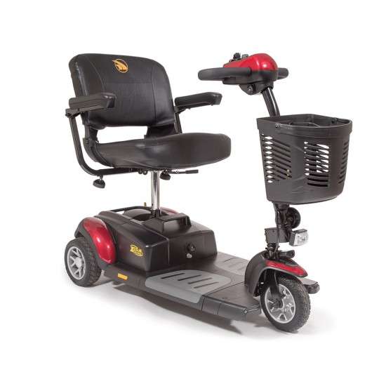 Front view of Golden Tech Buzzaround XL 3-Wheel Mobility Scooter