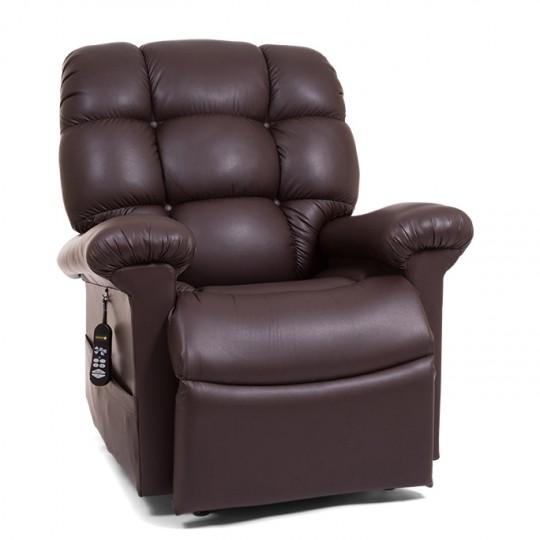 Brown Golden Tech Cloud Infinite Position Lift Chair
