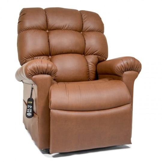 Light Brown Golden Tech Cloud Infinite Position Lift Chair