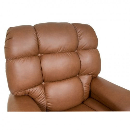 Headrest of Brown Golden Tech Cloud Infinite Position Lift Chair