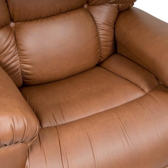 Seat of Brown Golden Tech Cloud Infinite Position Lift Chair