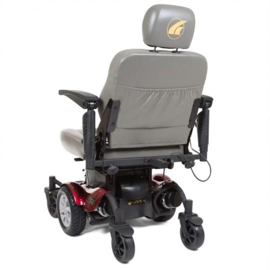 Back view of Golden Tech Compass HD GP620 Power Wheelchair