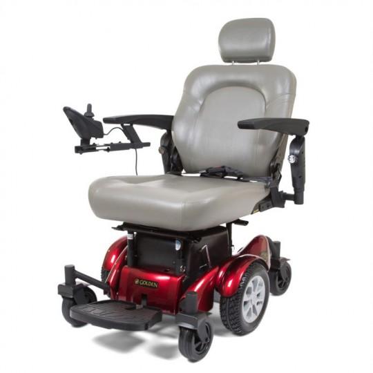 White Golden Tech Compass HD GP620 Power Wheelchair
