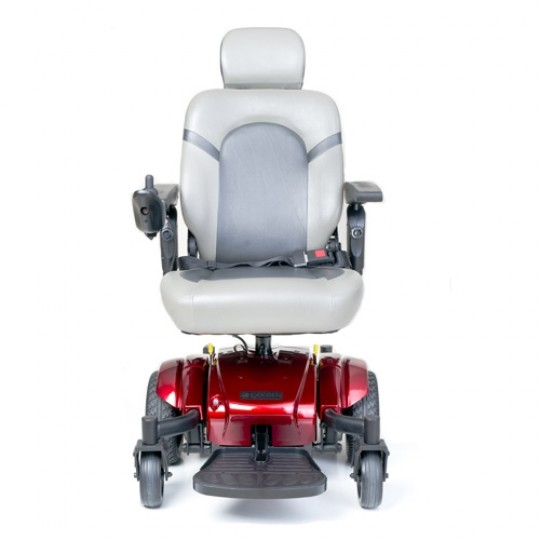 Front view of Golden Tech Compass Sport GP605M Power Wheelchair