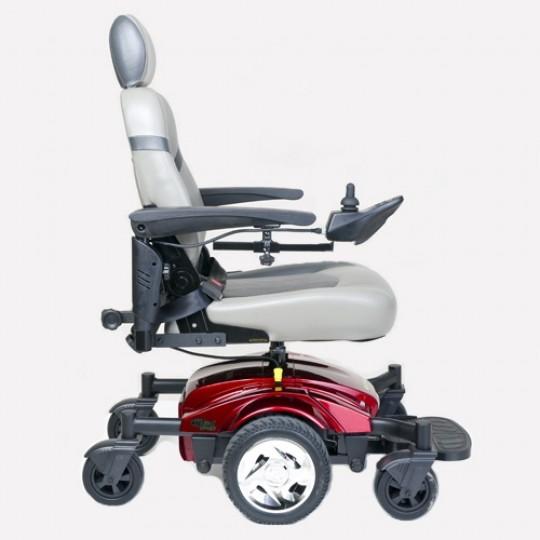 Side view of Golden Tech Compass Sport GP605M Power Wheelchair