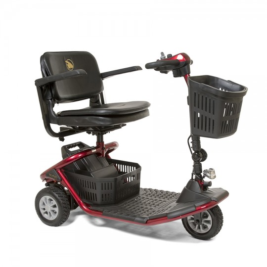 Red Golden Tech Literider 3-Wheel Mobility Scooter