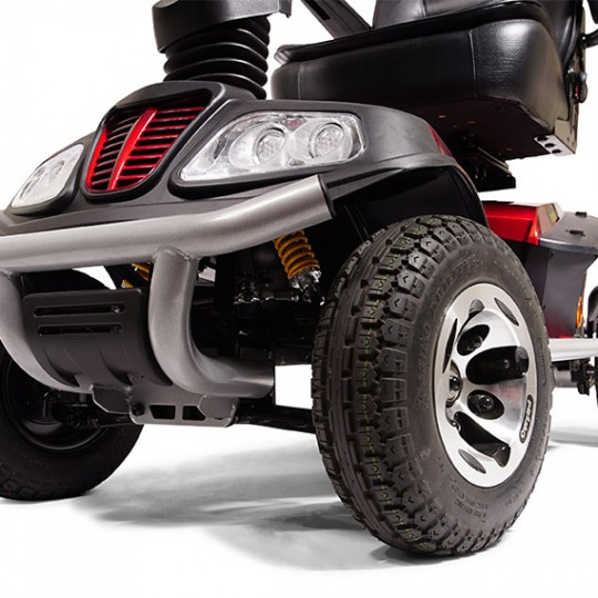 Wheels of Golden Tech Patriot 4 Wheel Mobility Scooter