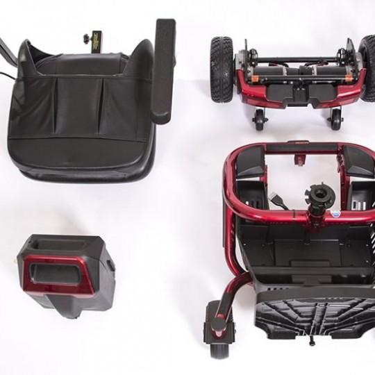 Red Golden Technologies LiteRider Envy PTC Travel Power Wheelchair