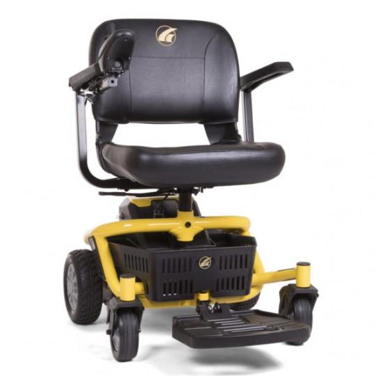 Yellow Golden Technologies LiteRider Envy PTC Travel Power Wheelchair