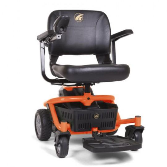 Orange Golden Technologies LiteRider Envy PTC Travel Power Wheelchair