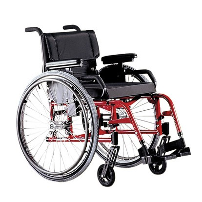 Red Quickie GP/GPV Rigid Manual Wheelchair