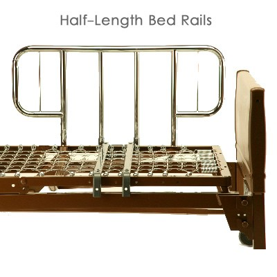 Half Rails on Hospital Bed