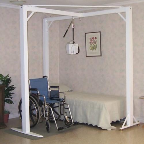T Shape 3 Post Frame For Ceiling Lift