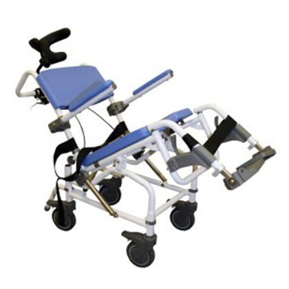 Healthline Aluminum Tilt Shower Commode Chair