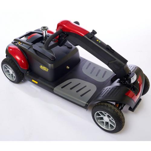 Folded Heavy Duty Travel Scooter